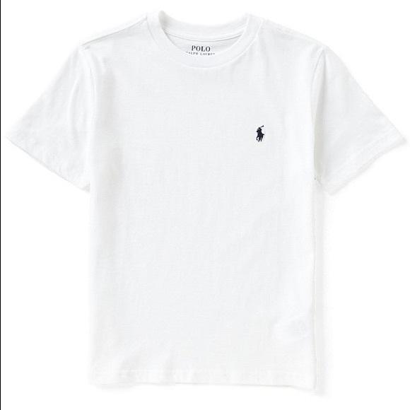 d90d20ea Polo by Ralph Lauren Shirts | Authentic White Polo Tshirt | Poshmark